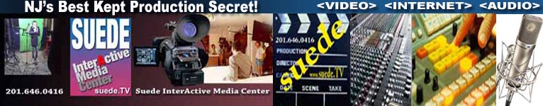 Suede TV-NJ Video Production, Recording Studio